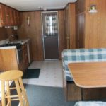 timberbay houseboat rental 30ft interior