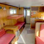 timberbay houseboat rental 35ft interior