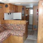 40' houseboat interior