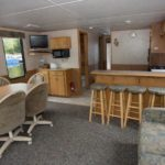 timberbay houseboat rental 52ft interior